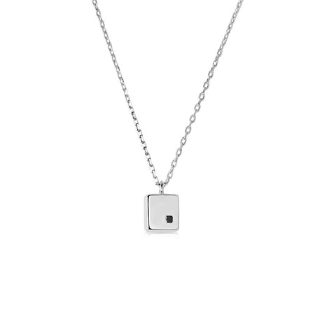 JAYE KAYE CUBIC WHITE NECKLACE x seven50