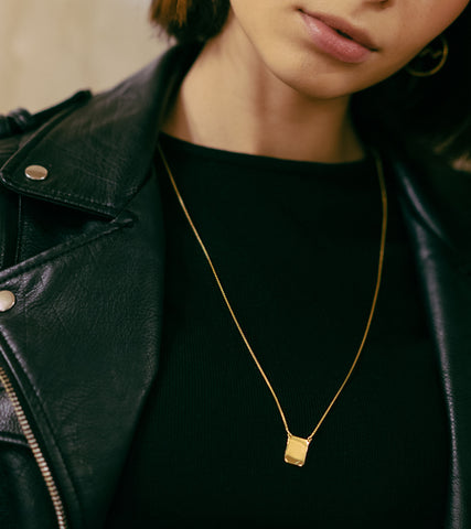 SEVEN50 Anthony Pecoraro Gold Scapular Necklace