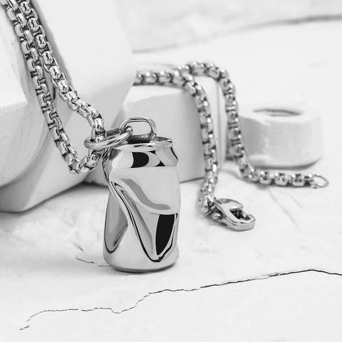 VITALY DESIGN x SEVEN50 -  FIZZ X STAINLESS STEEL NECKLACE