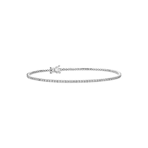 1.00ct-Natural-Diamonds-Tennis-Bracelet-14kt-Gold-7-Inch-,-men-women-tennis-bracelet
