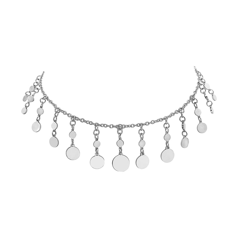 MINI REGAL DISC CHOKER NECKLACE, Collana, SEVEN50 WOMAN, SEVEN50 GROUP USA - SEVEN-50.COM