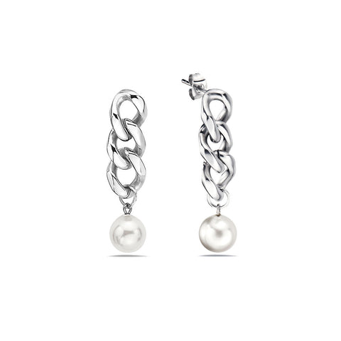8MM-WHITE-PEARL-AND-10MM-CUBAN-LINK-EARRINGS-FOR-MEN-AND-WOMEN-BY-SEVEN50