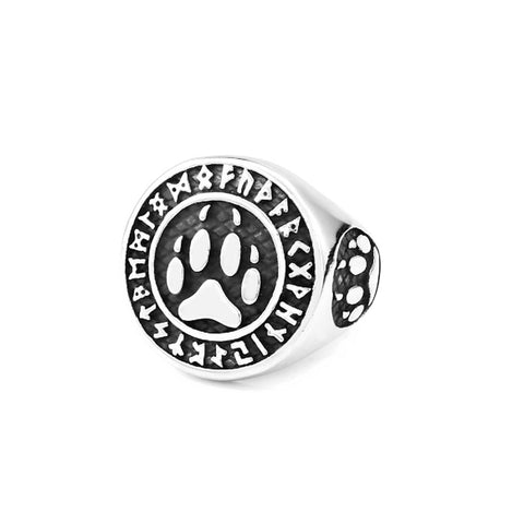 Bear Paw Ring, Bear Paw Slavic ring, Viking Ring, Scandinavian Ring, Bear Ring, Viking Jewelry Ring, Norse Jewelry