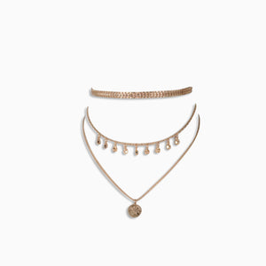COIN LAYERED CHOKER, Collana, ELIZABETH WHEELAND, SEVEN50 GROUP USA - SEVEN-50.COM