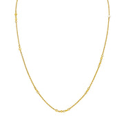 DELICATE DISC NECKLACE, Necklace, JEWELS BY NIDA, SEVEN50 GROUP USA - SEVEN-50.COM