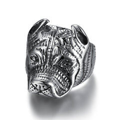 DOG HEAD RING, RING, CHARLIE MATTHEWS, SEVEN50 GROUP USA - SEVEN-50.COM