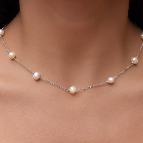 Genuine-Freshwater-Pearl-Station-Necklace-by-seven50-2-jpg