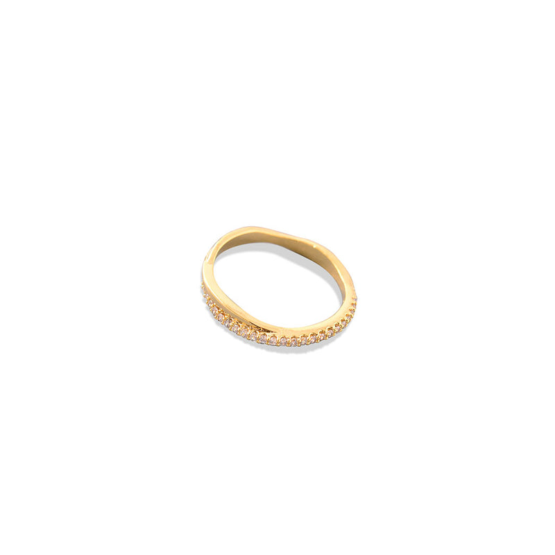 HALF BAND RING, WOMEN RING, JESSICA MICHEL SERFATY, SEVEN50 GROUP USA - SEVEN-50.COM