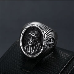 Jesus-Prayer-Ring,-Men-Jesus-Relief-Rings,-Christ-Jesus-Religious-Rings,-Silver-Christian-Mens-Jewelry,-Signet-Jesus-Mens-Ring.2jpg