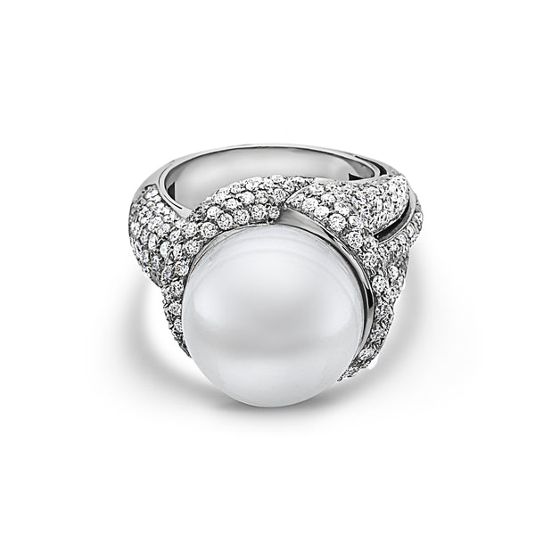 MADE IN ITALY ESTATE ARMONY PEARL RING
