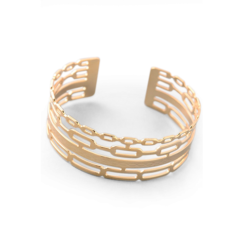 MIXED PATTERN CUFF, Bracciale, SEVEN50 WOMAN, SEVEN50 GROUP USA - SEVEN-50.COM