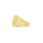 SQUARE WINGS SIGNET RING by seven50 inspired by Alice Wang