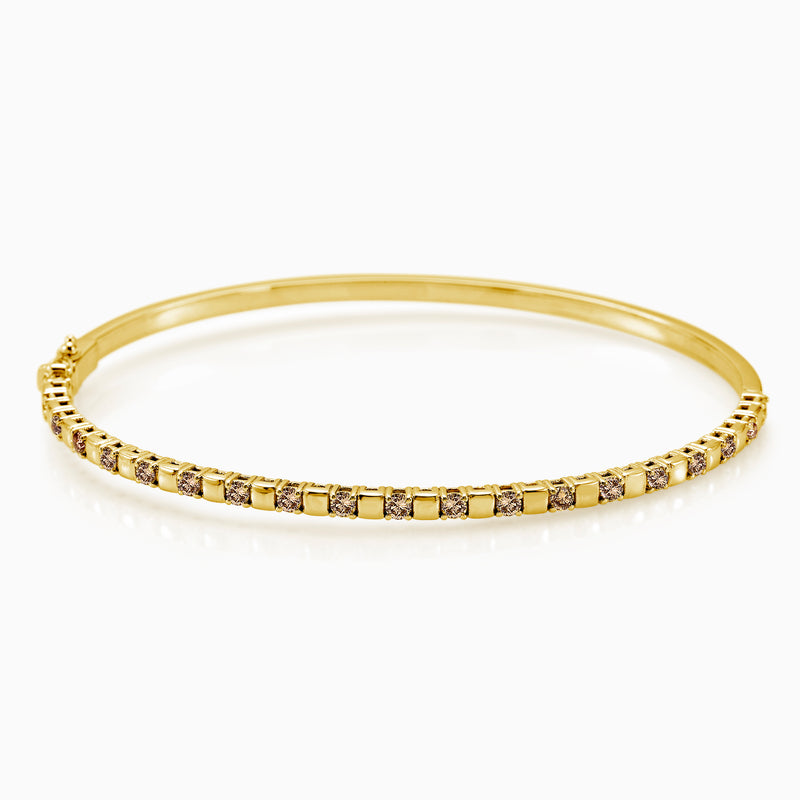 YELLOW BANGLE DIAMONDS BRACELET by ANDREA DENVER for SEVEN50