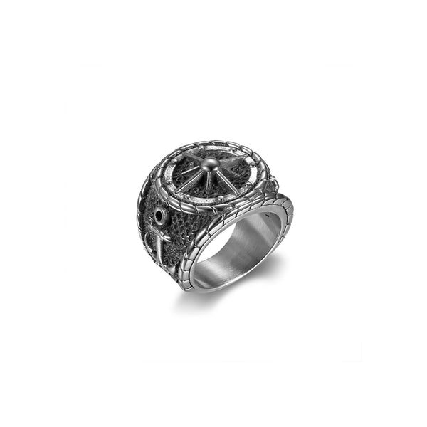 ANCHOR COMPASS RING