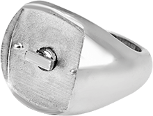 Anello - SQUARE SMOOTH RING