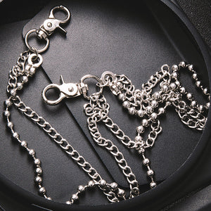 beads-and-curb-chain-wallet-chain-in-stainless-steel-by-seven50-7pg
