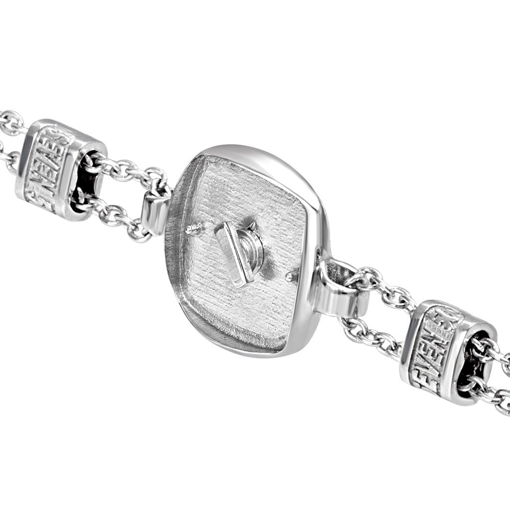 CHAIN SQUARE BRACELET, Bracciale, SEVENFIFTY, SEVEN50 GROUP USA - SEVEN-50.COM