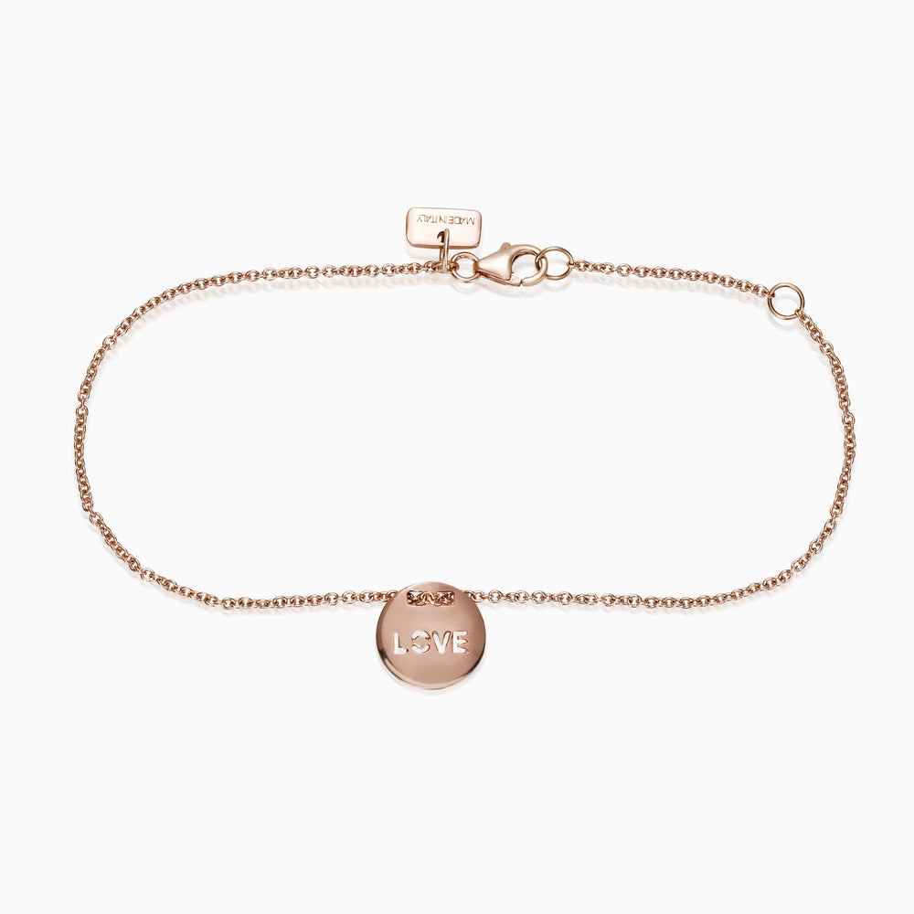 CIRCLE LOVE CHARM BRACELET, Bracciale, SEVEN50 WOMAN, SEVEN50 GROUP USA - SEVEN-50.COM