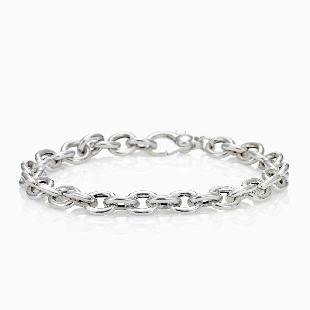 CIRCLE CABLE CHAIN BRACELET CIRCLE CHAIN BRACELET, BRACELET, SEVEN50, SEVEN50 GROUP USA - SEVEN-50.COM