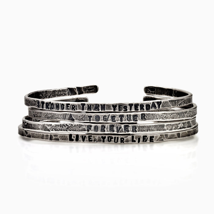 BRACELET - LYRICS BRACELETS by SEVEN50
