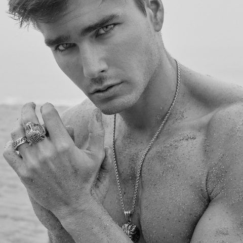 CHARLIE MATTHEWS for seven50 TIGER HEAD RING