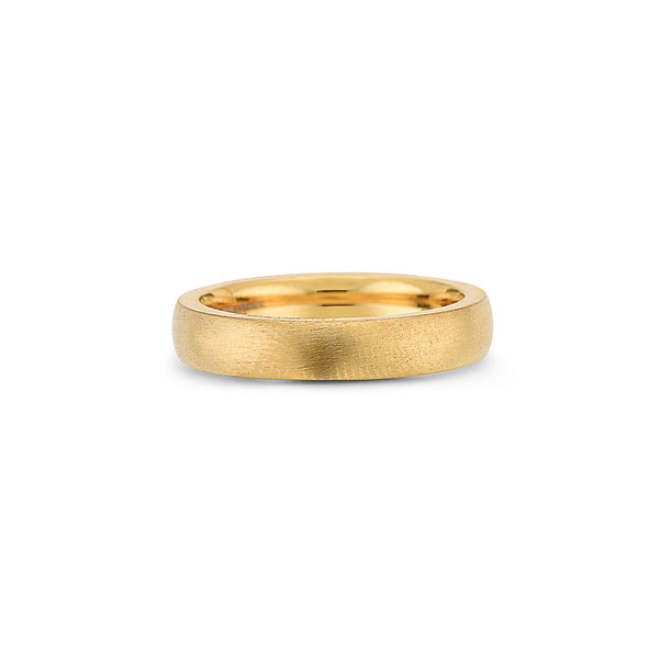 DIEGO BARRUECO 4MM BRUSHED BAND RING