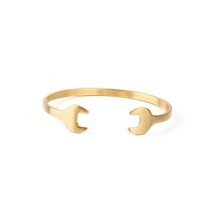 DOUBLE WRENCH BANGLE BRACELET