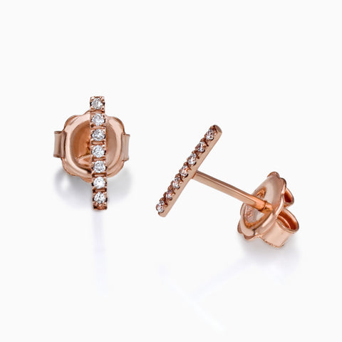 MINI BAR EARINGS, EARRINGS, SEVEN50 WOMAN, SEVEN50 GROUP USA - SEVEN-50.COM
