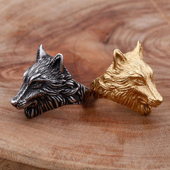 gold-and-silver--wolf-head-ring-in-stailess-steel-by-seven50