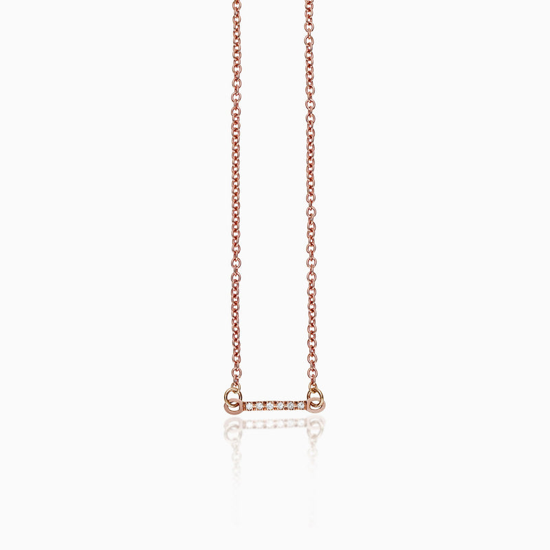 MINI BAR NECKLACE, Necklace, SEVEN50 WOMAN, SEVEN50 GROUP USA - SEVEN-50.COM