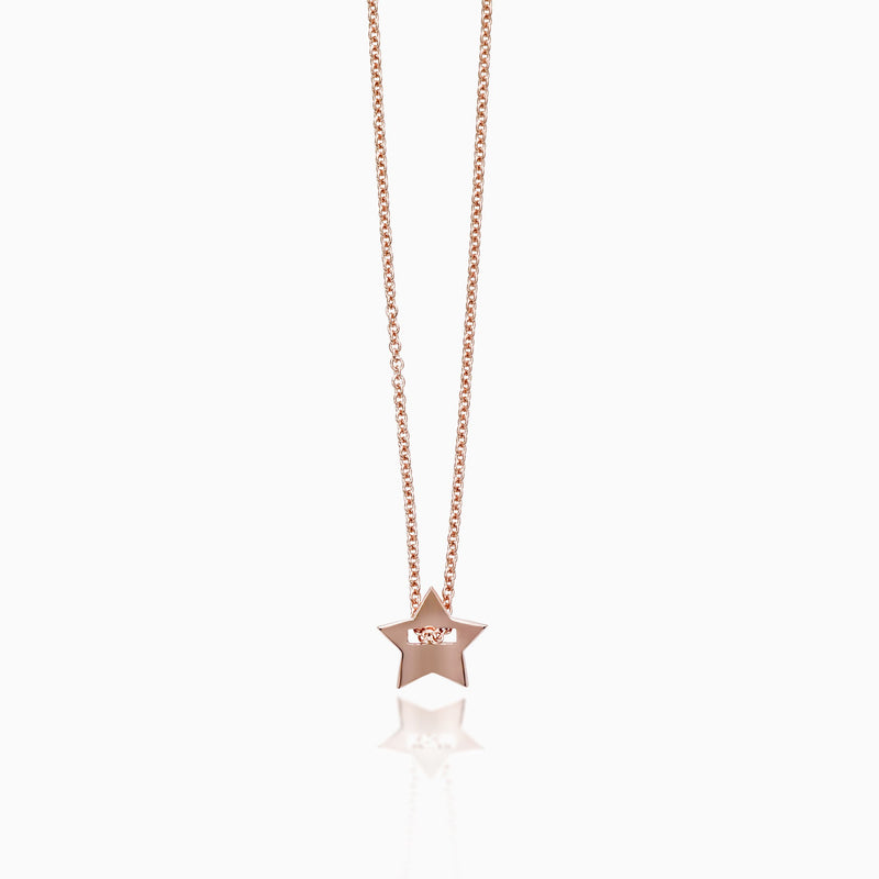 Necklace - STAR CHARM NECKLACE by SEVEN50