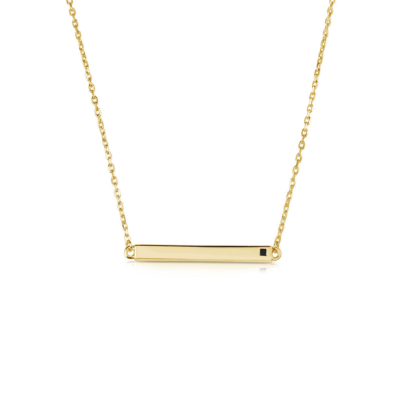 NECKLACES - LINEAR YELLOW NECKLACE by JAYE KAYE for SEVEN50