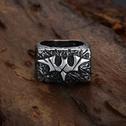 rectangular-aged-cracked-bat--signet-ring-in-stainless-steel