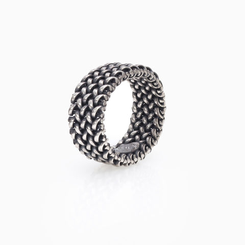 MINI MESH RING, RING, SEVEN50, SEVEN50 GROUP USA - SEVEN-50.COM