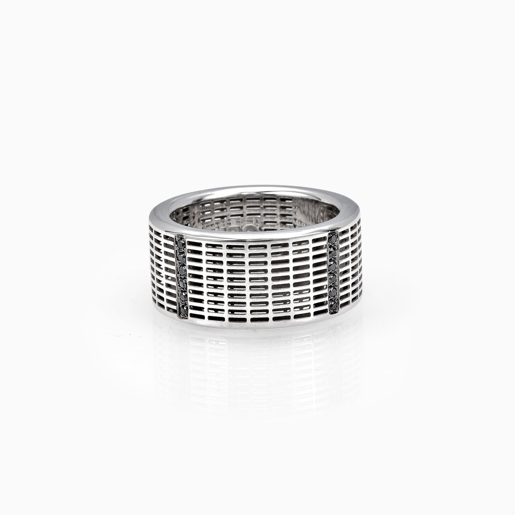 RING - SQUARE SINGLE BAND RING by SEVEN50