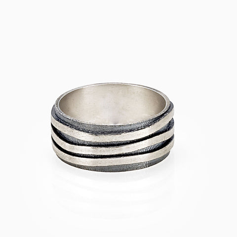 ZEBRA STRIPES RING RING - ZEBRA RING by SEVEN50
