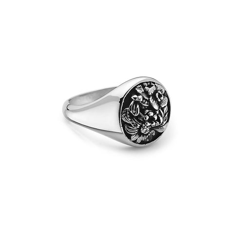 tomas-skoloudik-stainless-steelflower-garder-leaves-round-signet-ring--by-seven50-2