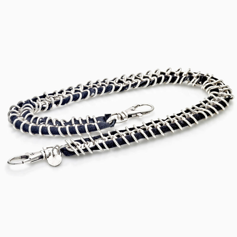 MEN'S CANVAS WALLET CHAIN, Wallet Chain, ANDREA MELCHIORRE, SEVEN50 GROUP USA - SEVEN-50.COM