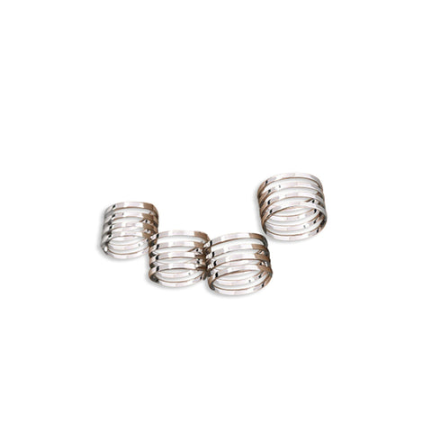 CAGED RING SET, WOMEN RING, SEVEN50 WOMAN, SEVEN50 GROUP USA - SEVEN-50.COM