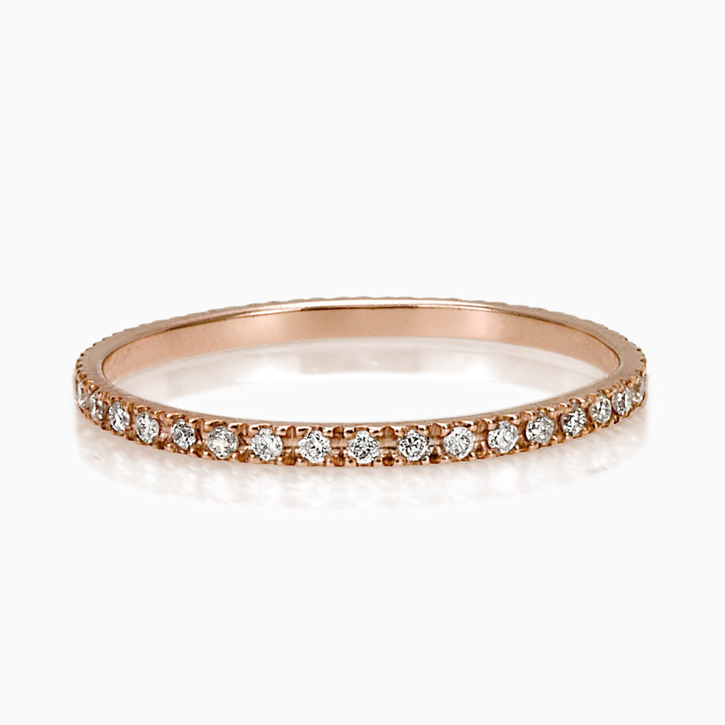 FEDE RING, WOMEN RING, SEVEN50 WOMAN, SEVEN50 GROUP MADE IN ITALY DIAMOND ETERNITY FEDE BAND RING USA - SEVEN-50.COM