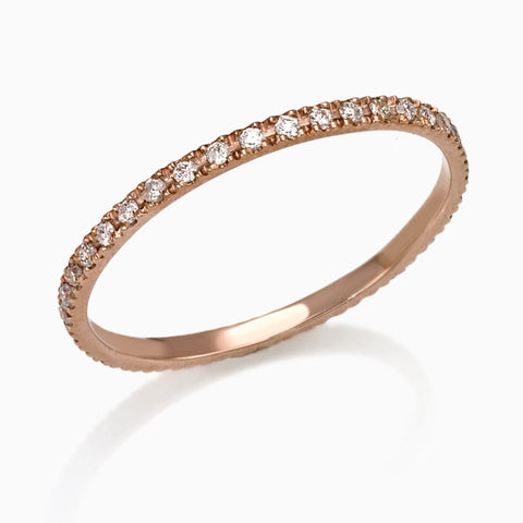 FEDE RING, WOMEN RING, SEVEN50 WOMAN, SEVEN50 GROUP  USA - SEVEN-50.COM  - MADE IN ITALY DIAMOND ETERNITY FEDE BAND RING