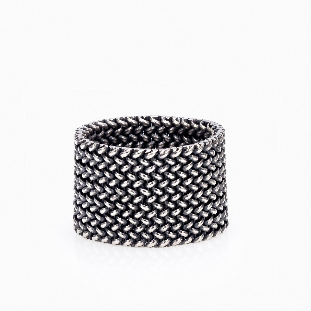 LIGHT MESH RING, WOMEN RING, SEVEN50 WOMAN, SEVEN50 GROUP USA - SEVEN-50.COM
