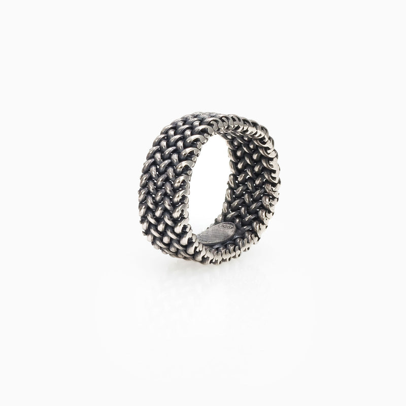 MINI LIGHT MESH RING, WOMEN RING, SEVEN50 WOMAN, SEVEN50 GROUP USA - SEVEN-50.COM