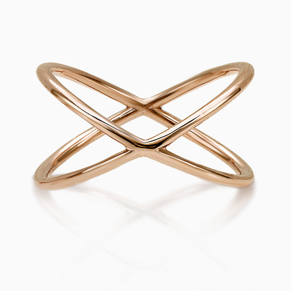 MADE IN ITALY X ROSE GOLD RING