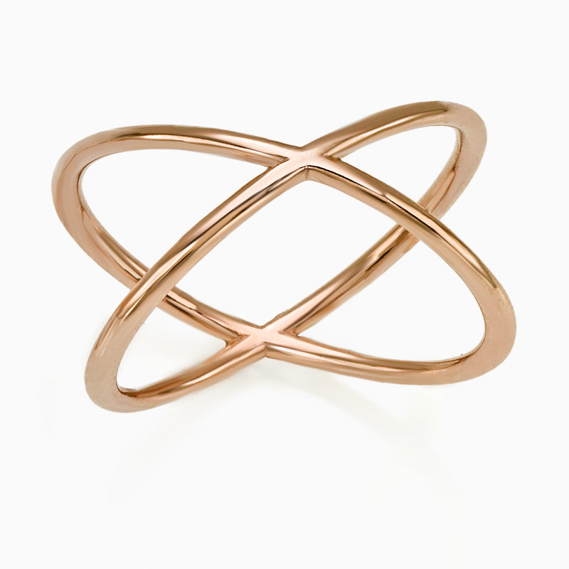 WOMEN RING - X RING GOLD SEVEN50 JEWELRY ACCESSORY WOMEN