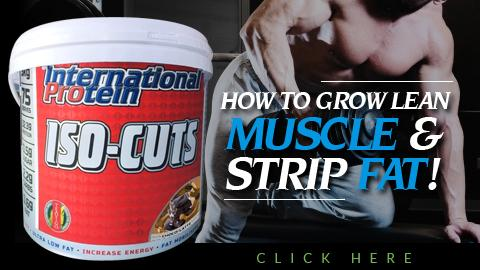 HOW TO GROW LEAN MUSCLE AND STRIP FAT!