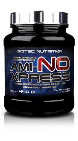 Scitec Nutrition Ami-NO Xpress container