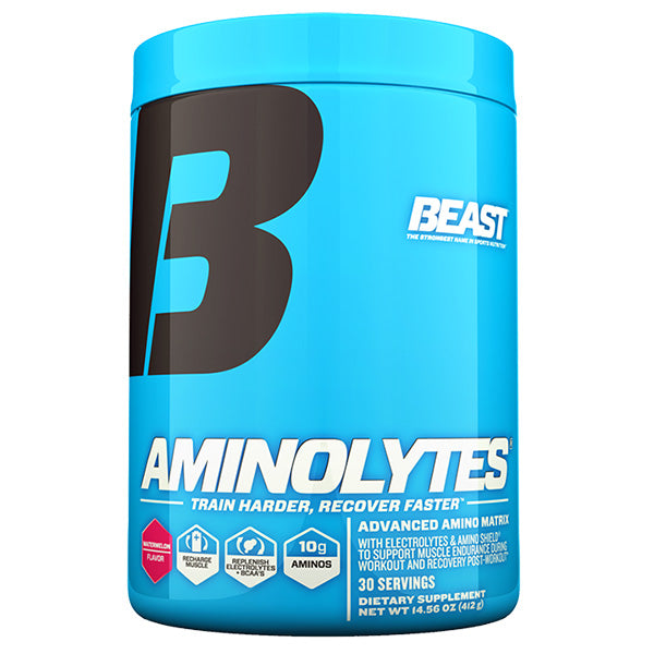 Beast Sports Nutrition Aminolytes container
