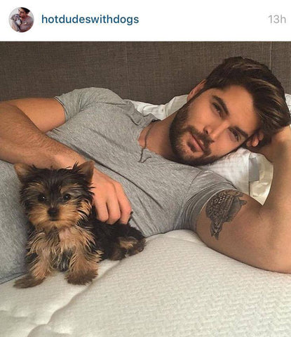 Hot Dudes With Dogs | Second To None