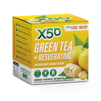 Tribeca Health Green Tea X50 - Second To None Nutrition